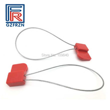 100pcs/lot J41 ISO18000-6C UHF RFID ABS stainless steel seal tag for Electric,Shipping,Secrecy