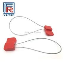 Купить с кэшбэком 100pcs/lot J41 ISO18000-6C UHF RFID ABS stainless steel seal tag for Electric,Shipping,Secrecy