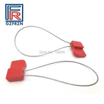 100pcs/lot J41 ISO18000-6C UHF RFID ABS stainless steel seal tag for Electric,Shipping,Secrecy цена 2017