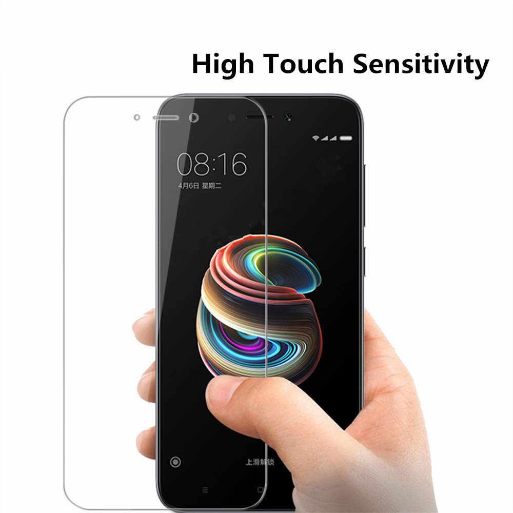Dla Xiaomi mi8 a1 szklana dla Xiaomi Redmi nie 4X 5A 5 plus 4 szkło hartowane dla Redmi S2 uwaga 4X note5 pro ochraniacz ekranu ze szkła