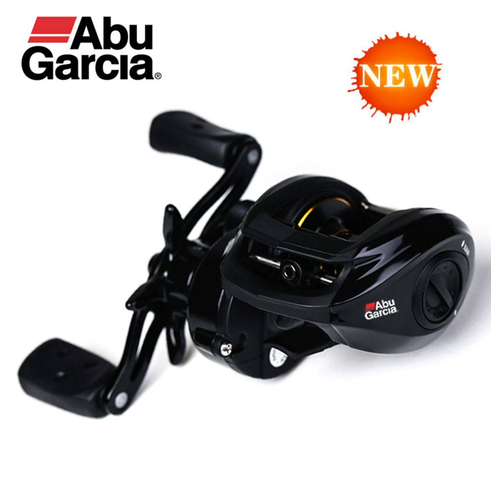 2017 New Style Abu Garcia Fishing Reel Pro Max Pmax3 Pmax3-L Baitcasting Water Drop Wheel 7.1:1 8KG Both Left-Right Hand 8BB abu garcia pmax3 right left hand bait casting fishing reel 7 1bb 7 1 1 207g 8kg max drag drum trolling baitcasting reel