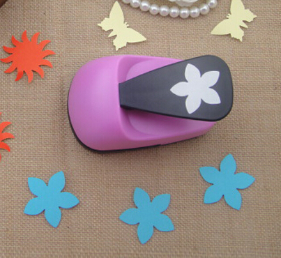 ! 2''(50mm) Flower Paper Punches For Crafts And Scrapbooking Furador Cortador De Papel Embossing Machine Hole Punch R486