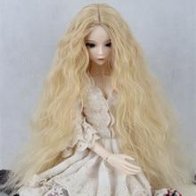 BJD SD Doll Wigs Vampire Chloe Male Female Dolls Gold Long Curly 1 3 1 1