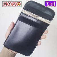 Cell Phone Anti Spy Signal Blocker Pouch Stop Cell Phone GPS RFID Tracking Bugging Bag Protect