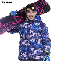 Dropshipping New 30 Warm Skiing Jackets Winter Snowboard Windproof Outdoor Hiking Sports Waterproof Snowboard Jacket For
