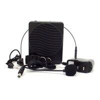 Draagbare Zwart 25 W Tailleband Luidspreker Met Microfoon Voice Versterker Booster Megafoon Mini Speaker Voor Onderwijs Tour Guide