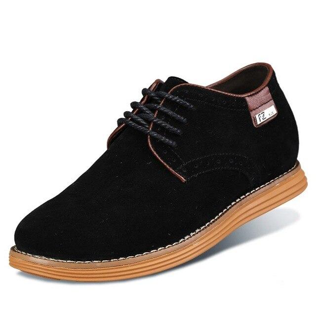De X8353 Aumento Zapatos Casuales La Ascensor Altura Hombres qqEHxS