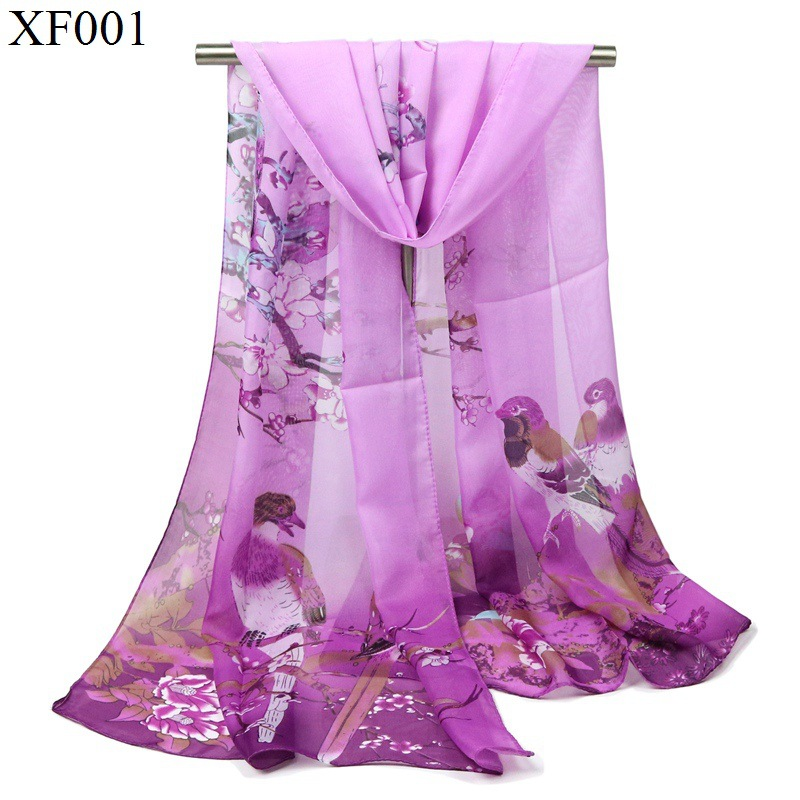 Hijab Scarf Special Offer Adult Winter 2018 New Year Autumn Scarves Flowers Magpie Birds Peony Classic Korean Women Wholesale