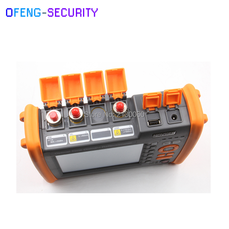 NK5600 OTDR Optical Time Domain Reflectometer High Quality SM 1310-1550nm-30/32dB VFL 5MW Visual Fault Locator