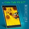 De X protetores de tela de vidro para Cube discussão 9 X 9.7 '' protetor de tela de vidro temperado