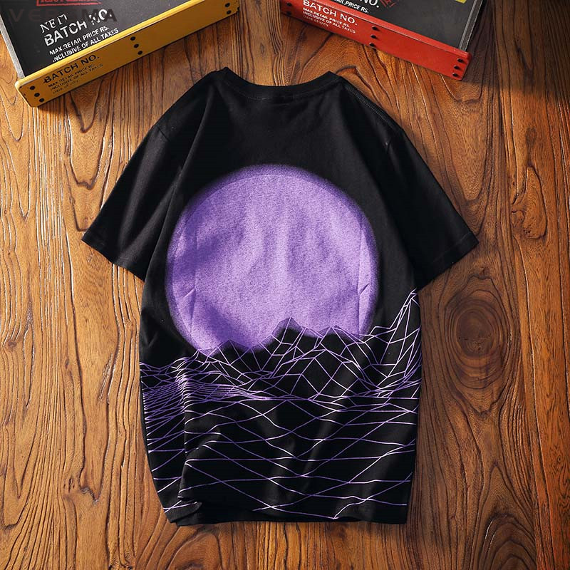 VERSMA 2018 Summer Korean Harajuku Ulzzang BF Printed T-shirts Men Women Hip Hop Ins Oversized Loose Couple Tee Shirts Male 5XL