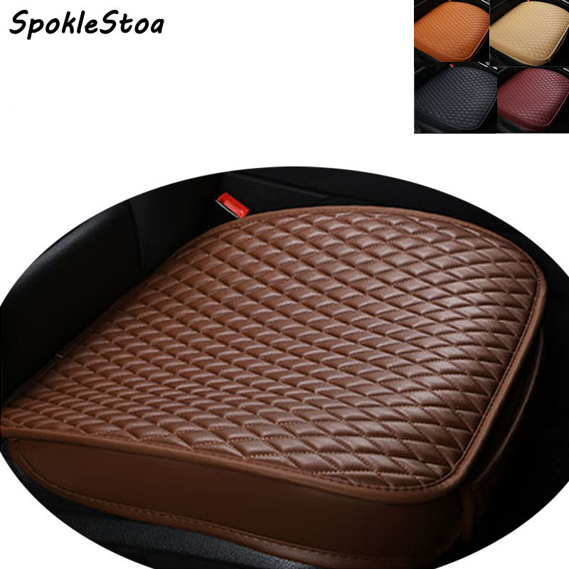 buy pu leather car pad not moves auto seat cushions non slide car seat. Black Bedroom Furniture Sets. Home Design Ideas