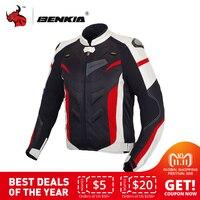 BENKIA Мужская мотоциклетная куртка Защитное снаряжение мотоциклетная одежда съемный вкладыш Veste пальто Светоотражающая гоночная езда Мото к