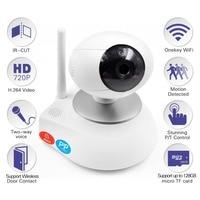 HD 720P Video Baby Monitor Wireless WiFi IR Video Talk Intercom Camera With Night Vision Pan/Tilt Baba Electronic