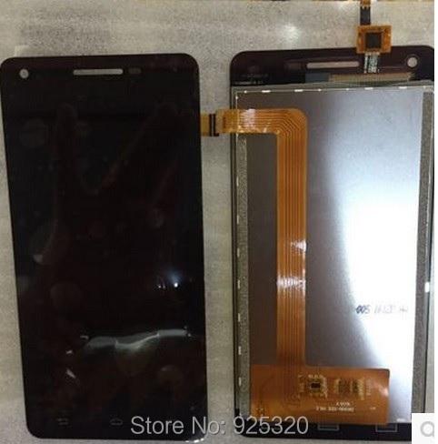 Frete grátis, LCD Original + montagem da tela de toque para a Philips V377 CTV377 Celular telefone Xenium móvel
