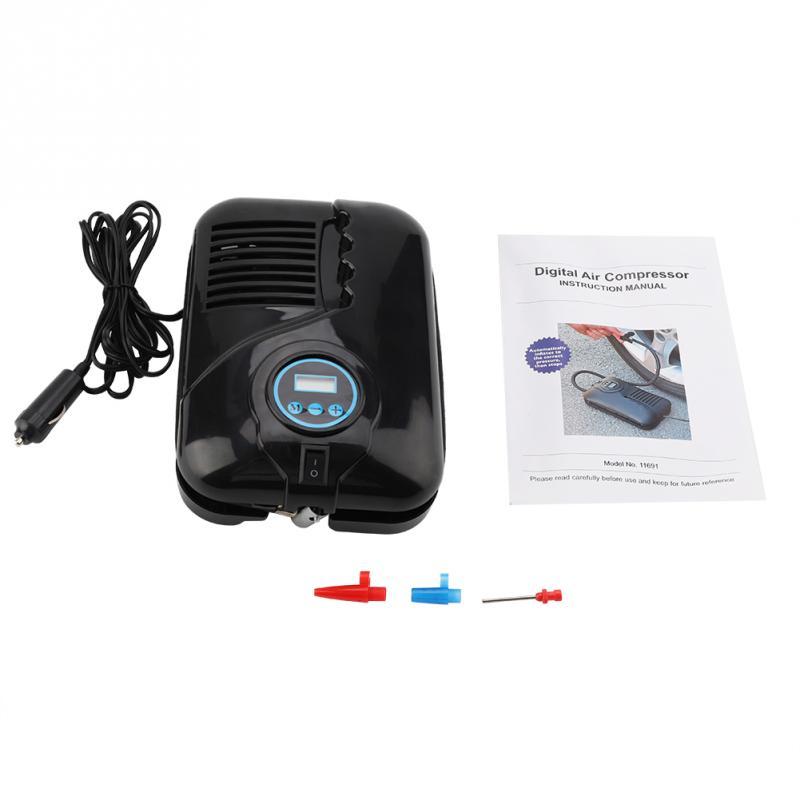 Pumpen, Teile Und Zubehör Rational Tragbare Mini Auto Pumpe 12 V 250psi Mini Auto Pumpe Reifen Reifen Inflator Elektrische Luft Kompressor Hohe Kapazität Digitale Reifen Inflator Einfach Zu Schmieren