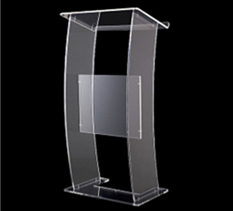Speaker Podium Clear Acrylic LecternAcrylic Church Pulpit Stand Pulpit For Church Podiums For Sale