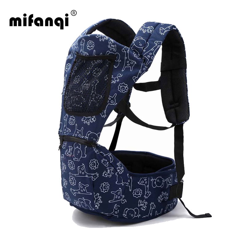 Baby Carrier 4 6 Months Front Carry Portabebes Manduca Cotton Polyester New Baby Infant Newborn Adjustable
