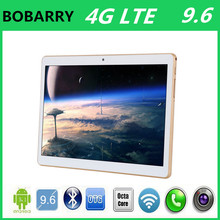 Free Shipping 9.6 inch tablet octa core MTK6592 3G/4G LTE GPS Android 5.1 4GB 32g Dual Camera 5.0MP 1280*800 IPS Screen