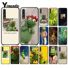 Yinuoda Kermit the frog Funny Colorful Cute Phone Case for Huawei P10 Plus Mate10 Mate20 Pro 10Lite P20 Honor10 View10