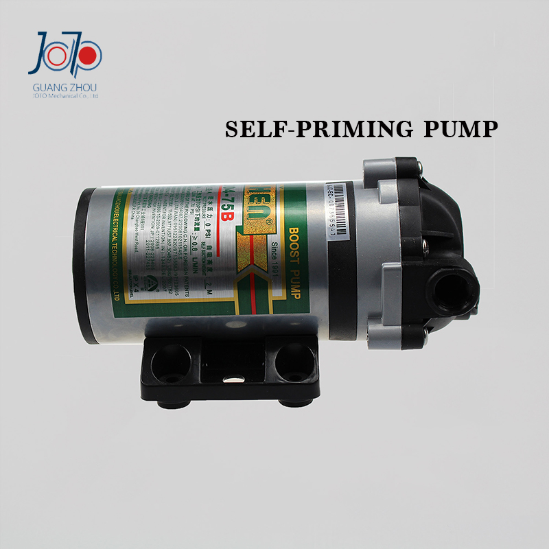 75KG Self-priming Pump 24V Water Purifier Pure Water Machine Self-priming Pump 2M Self-priming Booster Pump 1pcs pure water machine self priming pump water pp cotton filter 2 points drinking fountains accessories home appliance parts