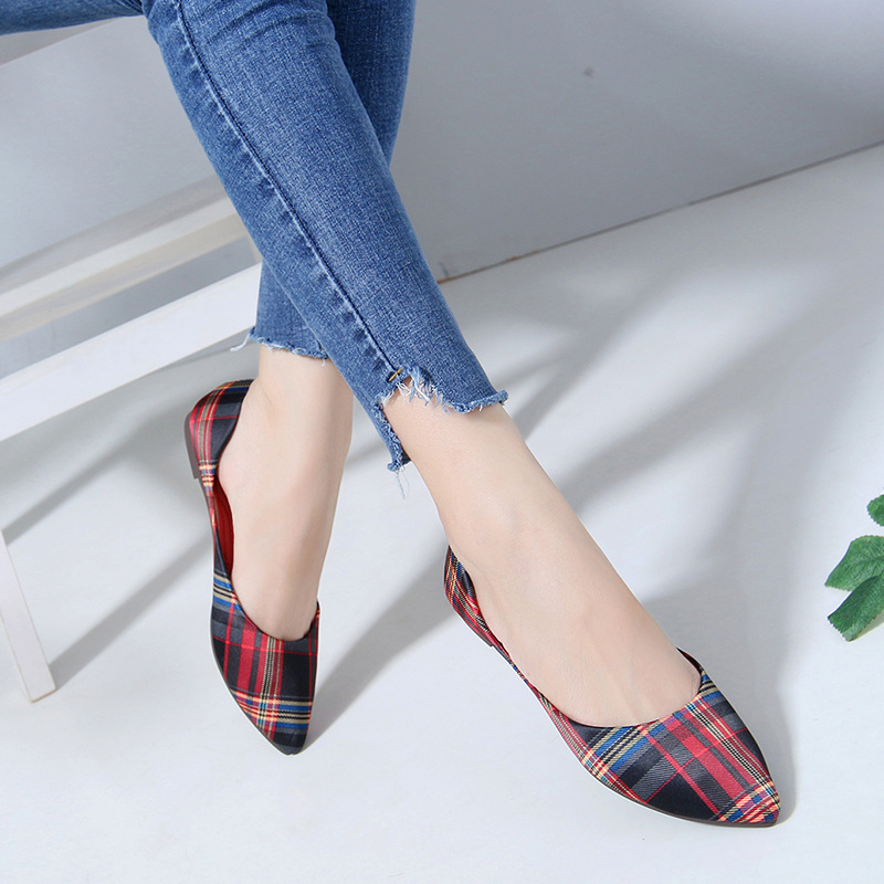 Loafers Flat-Shoes Walking-Flats Classic Comfortable Women Ladies New-Fashion Work Casual