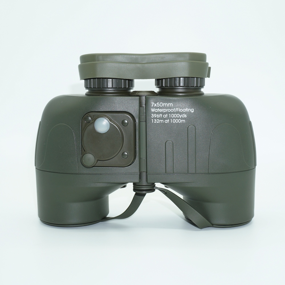 military 7X50 waterproof Binoculars bak 4 prism Professional Telescope binocular telescopes with compass and font b