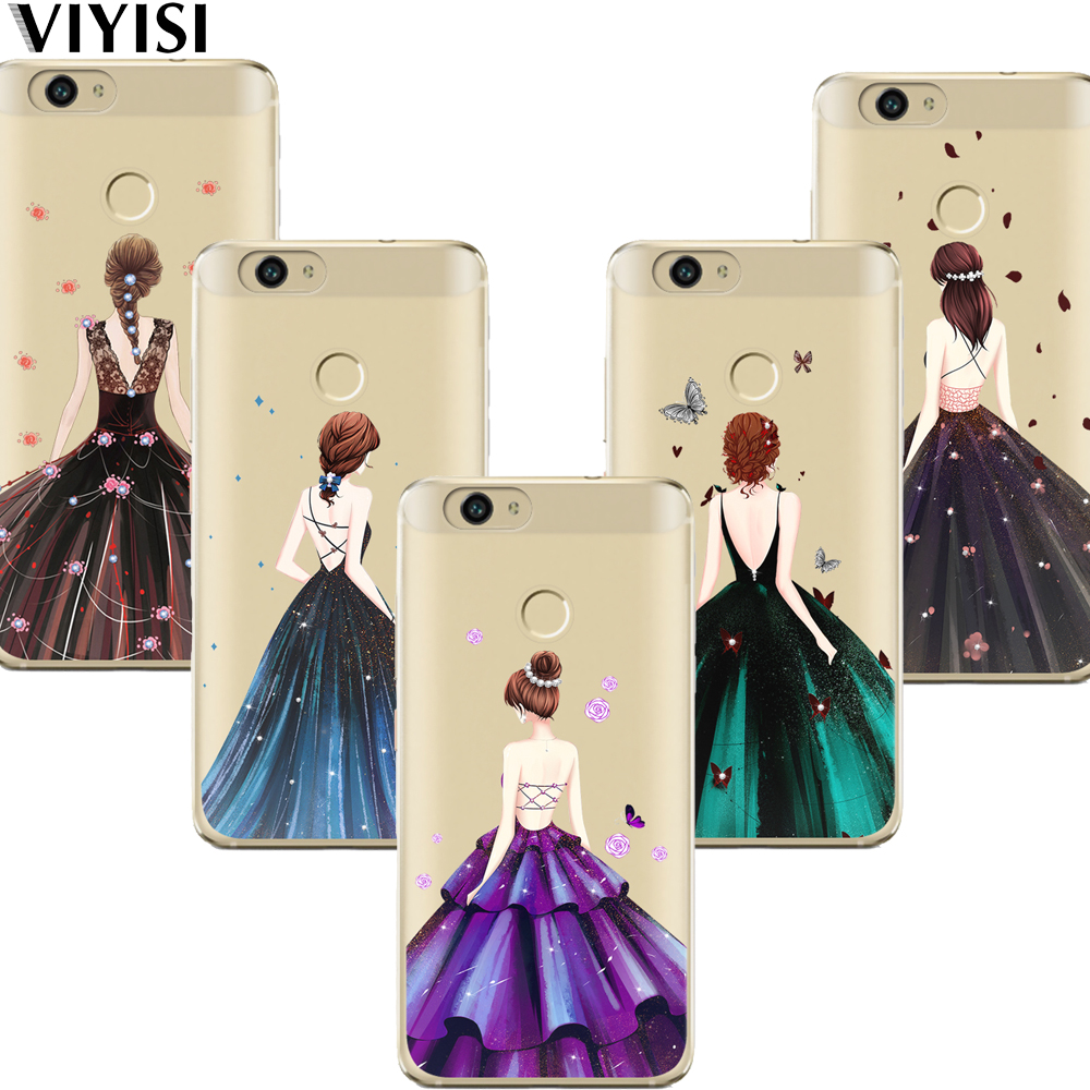 VIYISI For <font><b>Huawei</b></font> Honor 9 6A P10 lite Y5 <font><b>Y6</b></font> II Pro Y7 Nova 2 Plus Mate 9 10 Pro P8 P9 Lite <font><b>2017</b></font> Back Girl Cover <font><b>Carcasas</b></font> Coque image
