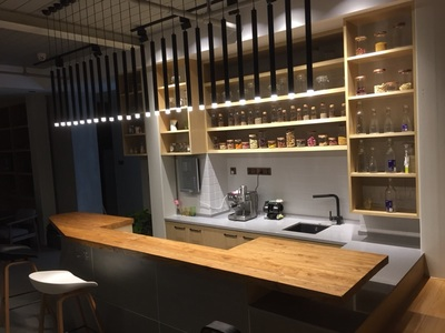 Dimmable Pendant Lights Modern Kitchen Lamp Dining Room Bar Counter Shop Pipe Pendant Down LED Lights Kitchen Spot Light 3cm (3)