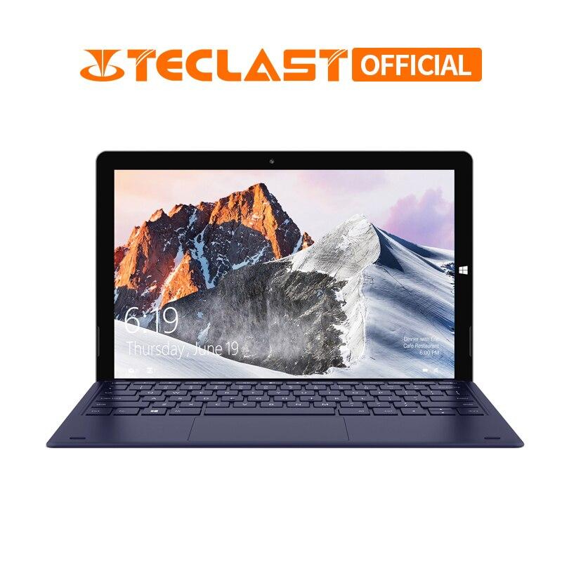 12.6 pouces 1920*2880 Teclast X6 Pro 2 en 1 tablette PC Intel M3-7Y30 8 GB RAM 256 GB SSD Windows 10 écran tactile ordinateur portable double Wifi