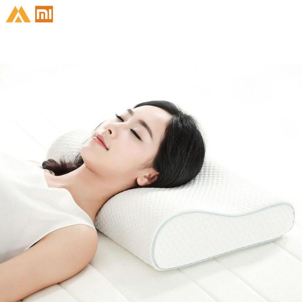 Original Xiaomi Memory Cotton Pillow H1 Super Soft Antibacterial Neck Support Xioami Pillow Xiomi Xaomi Xioami