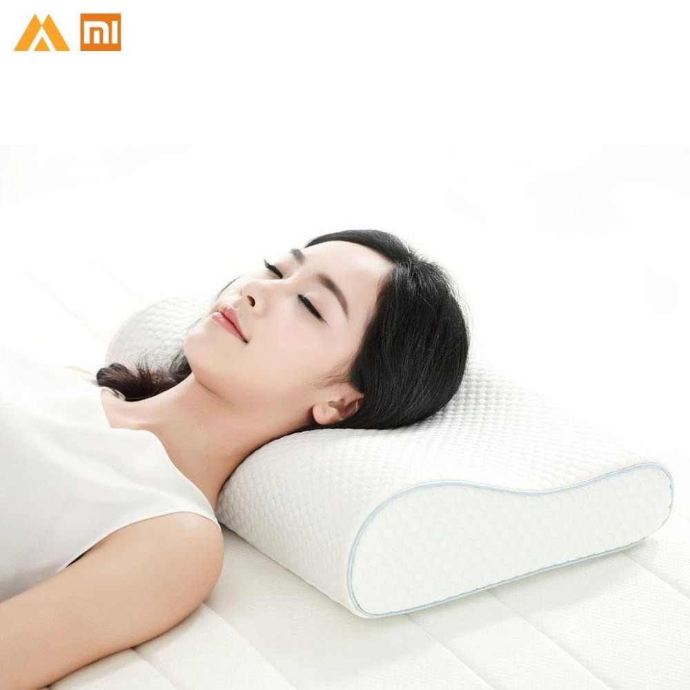 Original Xiaomi Memory Cotton Pillow H1 Super Soft Antibacterial Neck Support Xioami Pillow Xiomi Xaomi Xioami