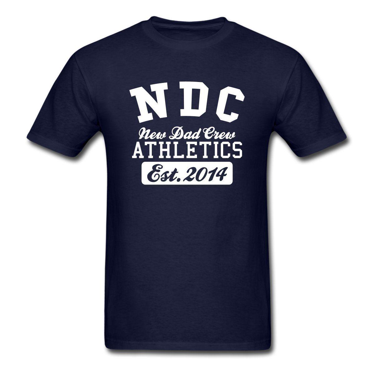 Shirt design price - New Dad Crew Athletics 2014 Men S T Shirt Design Basic Top Fashion T Shirt Hipster