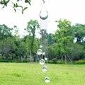 H & D синий сглаза настенные Висячие капли радуги производитель хрустальные солнечные Ловец с кристаллами призматические шары для дома  укра...