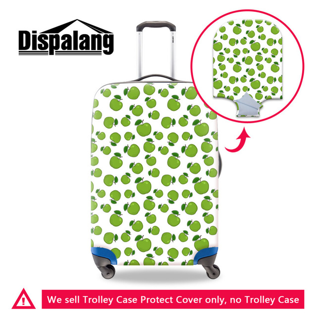 2016 Moda Acessórios de Viagem Frutas Imprimir Elastic Bagagem Mala Capa Protetora Dust-Proof Aplicar a 18 ~ 30 Polegada caso