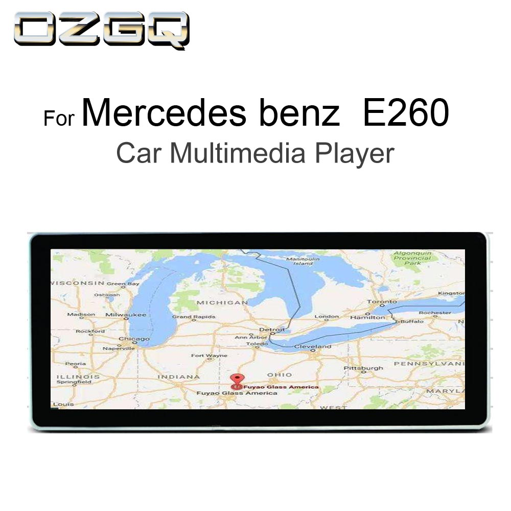 OZGQ 10.25 inch Android Car <font><b>Multimedia</b></font> GPS Autoradio Navigation For 2009-2014 <font><b>Mercedes</b></font> benz E260 <font><b>W212</b></font> With Bluetooth WIFI Map image