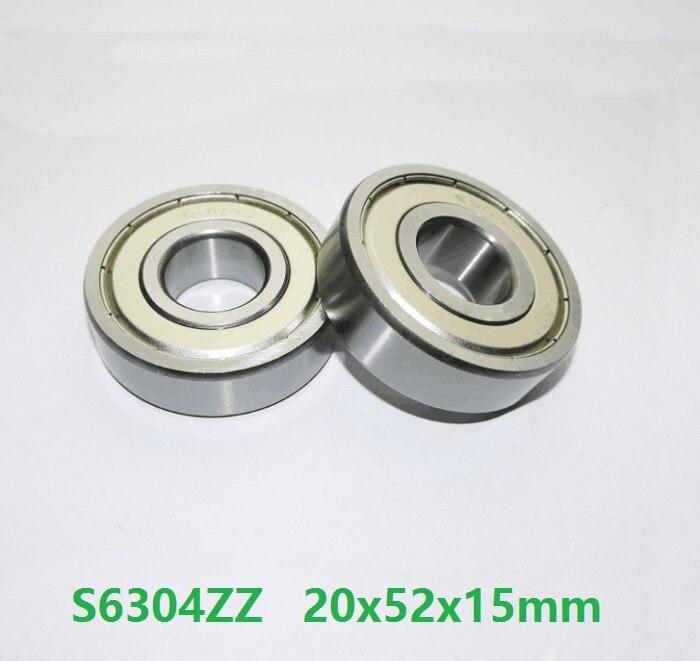 6304Z 6304ZZ 6304 Z 6304 ZZ Deep Groove Ball Bearing 20mm x 52mm x 15mm 20 Pcs