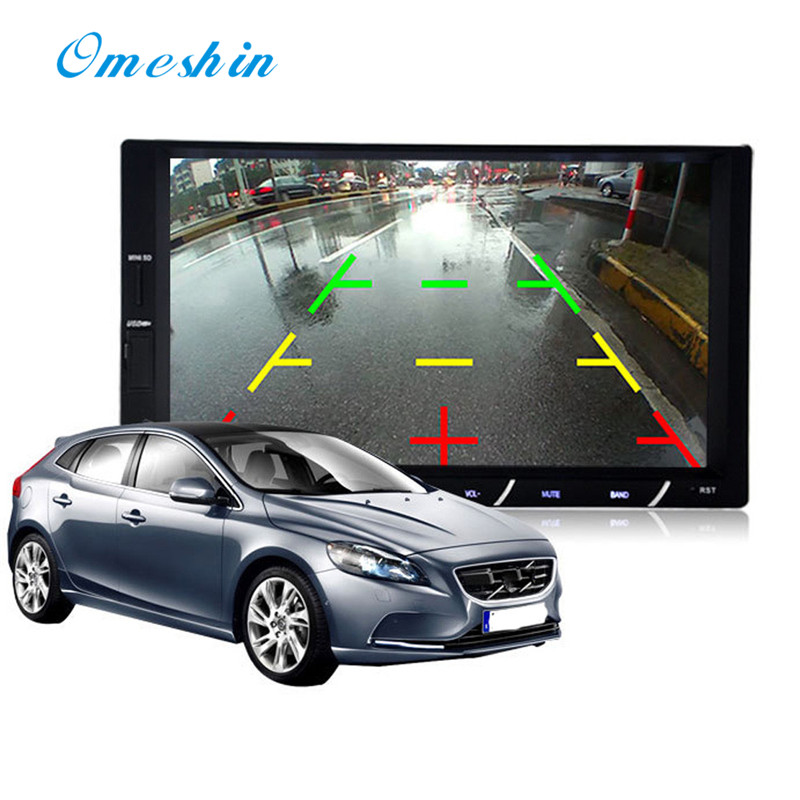 7 inch 2Din Car Stereo MP5 MP3 Player Touch Screen FM Radio USB SD Bluetooth  fashion hot new styling 17july5