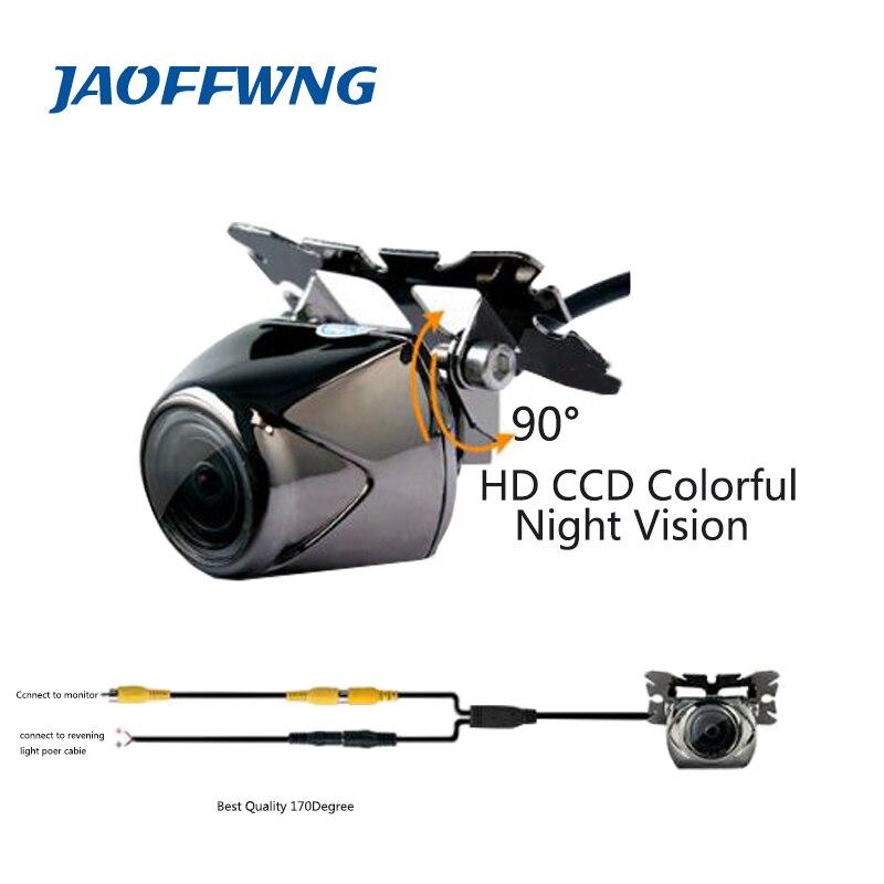 Doprava zdarma CCD univerzální Auto zadní kamera HD barevné noční vidění auto fotoaparát pro všechny auta Pro různé modely zadní kamery