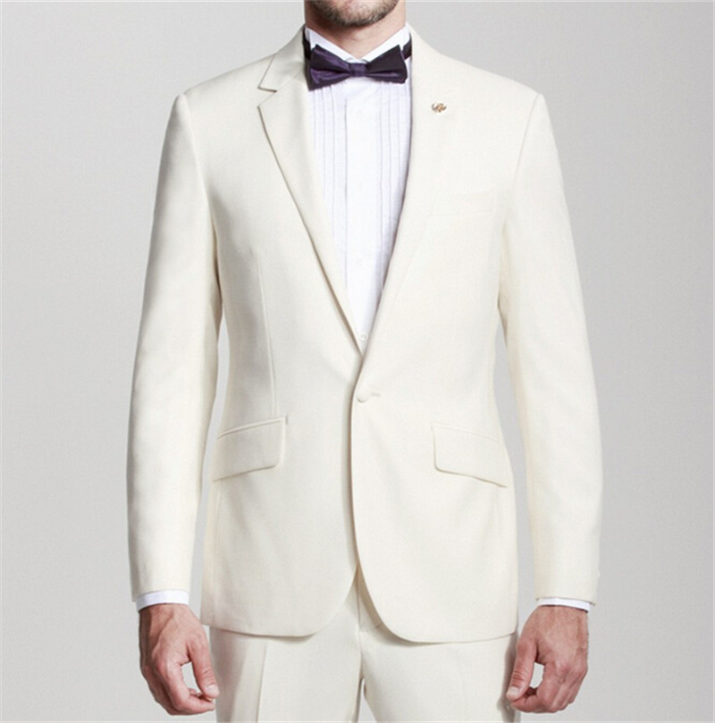 Aliexpress.com : Buy High quality Groom suit One buttons Men ...