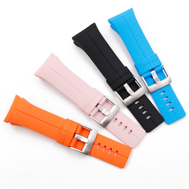 Watch Accessories Silicone Strap Men Suitable for Suunto Spartan Extreme Ultra HR Outdoor Sports Waterproof Watch Strap band