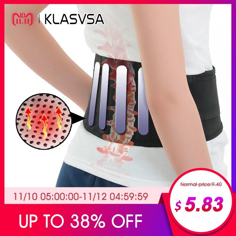 1 pieza de autocalentamiento con 4 placas de turmalina magnética para la espalda con ceintura de la cintura turmalina soporte masajeador