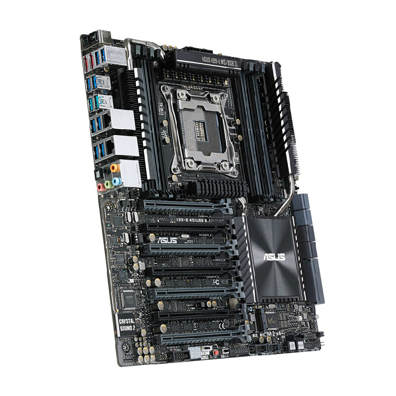 X99-E WS  Workstation Board Single-channel 2011 Needle 4-way Full-speed Crossfire 90%new