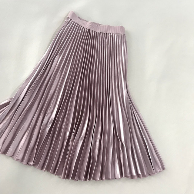 Sherhure 2019 Autumn Women Long Skirts Fashion Brand A-Line Women Pleated Skirts High Waist Women Midi Skirt Faldas Mujer Saias