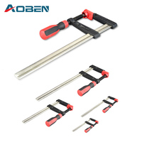 AOBEN Adjust F Clamps For Woodworking 120*500mm Pipe Clamp Woodworking Carpentry 90 Clips Corner Angle Clamps Hand Tools