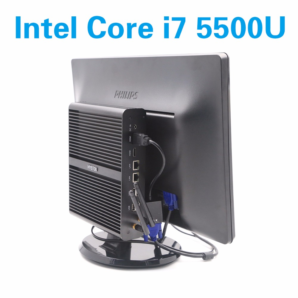 intel core i7 5500u mini computers broadwell dual lan. Black Bedroom Furniture Sets. Home Design Ideas