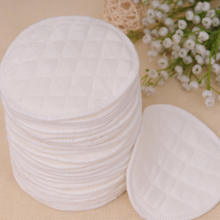 12pcs(6 pairs) 3 layers Ecological cotton Reusable Nursing Breast Pads Washable Breastfeeding For Mommy