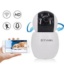 CTVMAN kamera IP era Wifi HD 1080 P mikro kamera Wifi Pan Tilt obrót kamery CCTV nadzoru bezpieczeństwa kamera Mini kamera IP wsparcie P2P