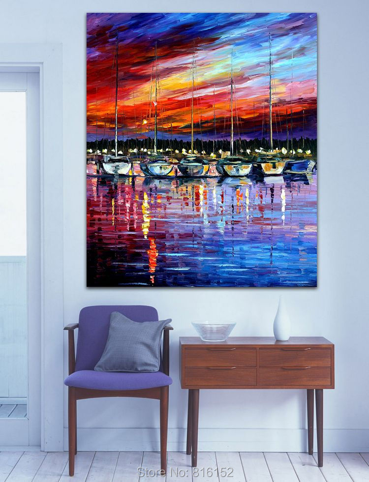 Buy Yacht Club Abstract Acrylic Paintings
