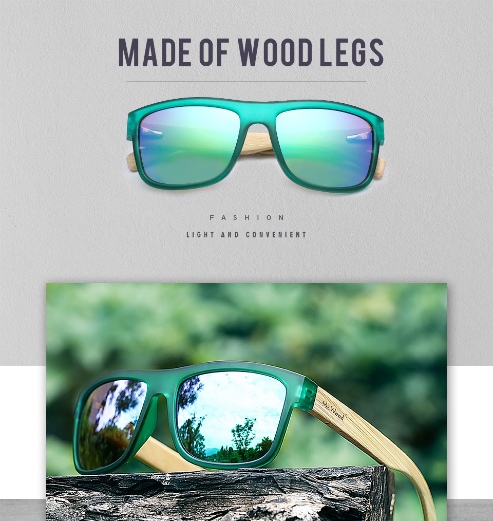 Bamboo Sea Gradient Shades Sunglasses for Men 11